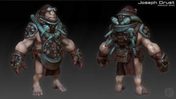 "Interview with Joseph Drust, Character Artist: ""By far"