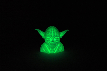 3D printed Yoda  - Afinia