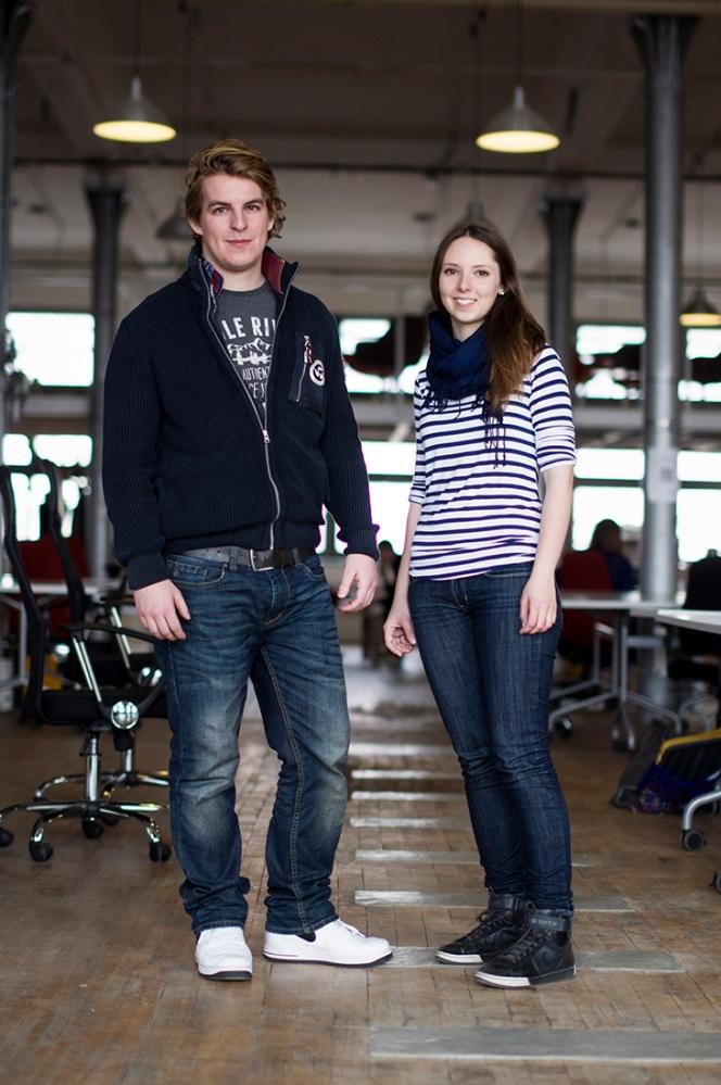 Juraj Talcik and Veronika