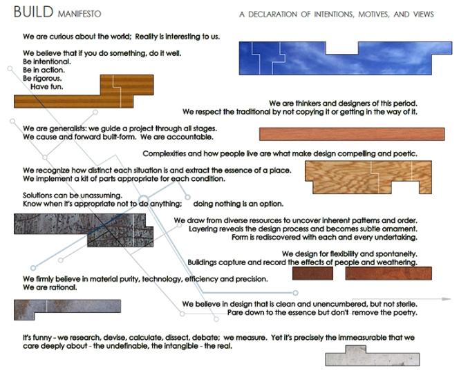 BUILD Manifesto
