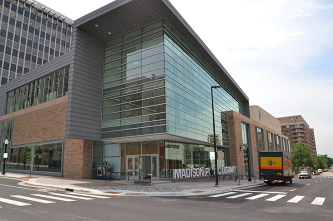 Traci Lesneski - Madison WI Central Library DSC_0353