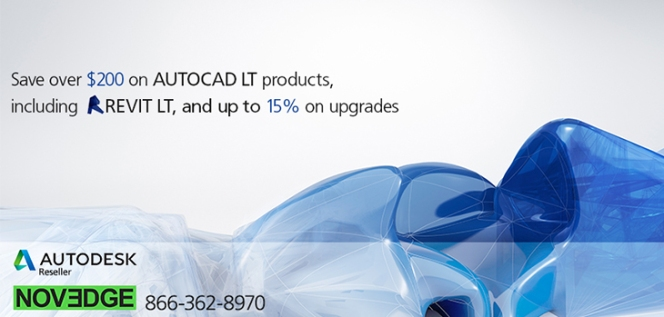 Novedge - AutoCAD LT Special - New Blog