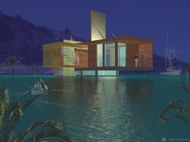 Studio Peek - Ancona 1b night rendering_sPA