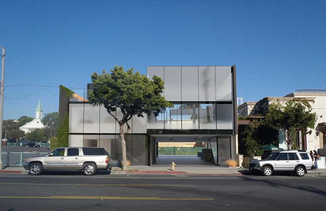 Christopher Arntzen - Belzberg Architects - BldgA_Office_Elevation_Frosted 02