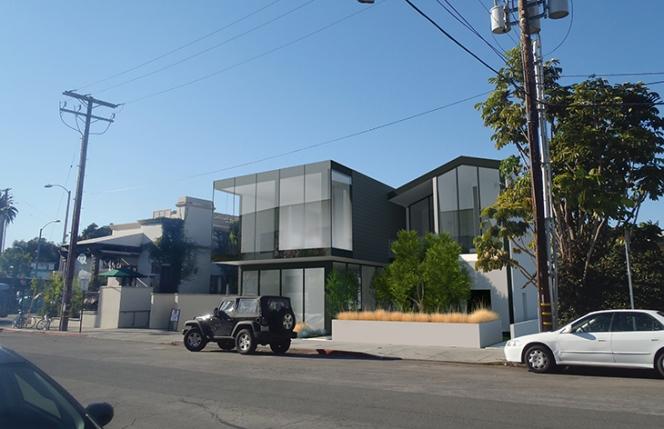 Christopher Arntzen - Belzberg Architects - BldgB&C_Hollister_Frosted