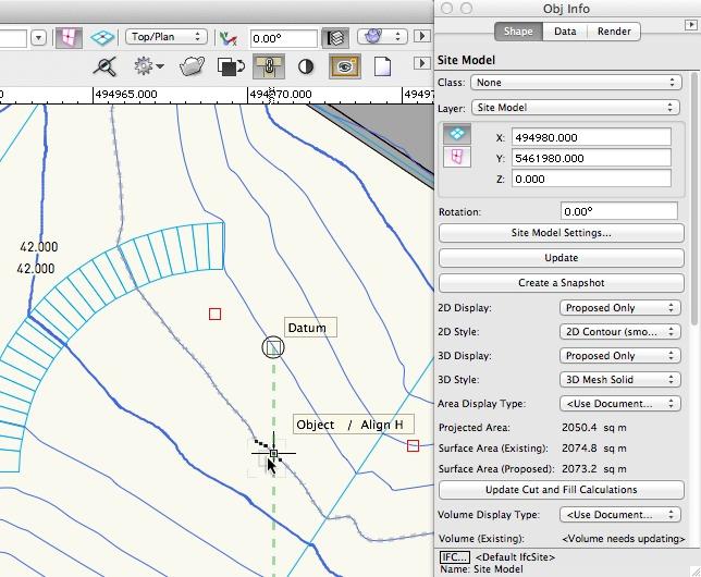 Vectorworks - Site Model