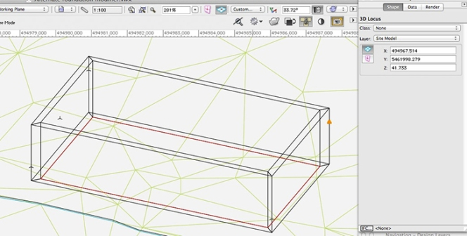 Vectorworks - 3D loci or Stake Objects