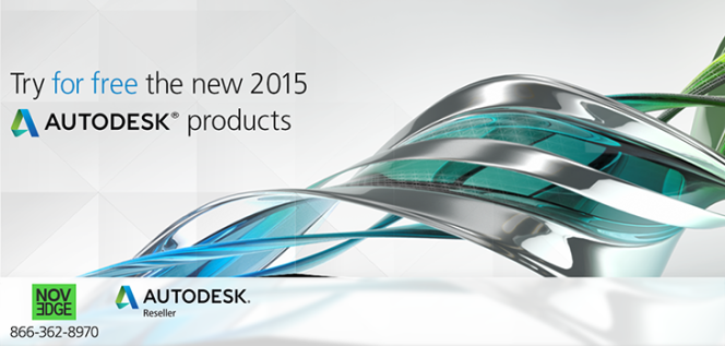 Try new 2015 Autodesk Products for Free