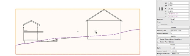 Vectorworks - Existing and Proposed grade