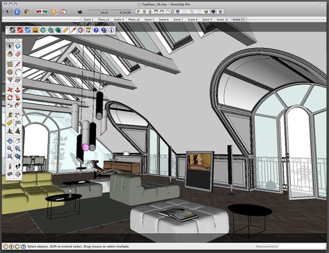 Maxwell Render for SketchUp - Novedge Blog - Screendump_Topfloor