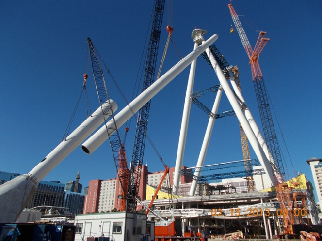 Andrew Crowther - Arup - Erection of Support Structure