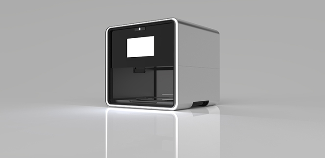3D Printed Food - NM Foodini rendering