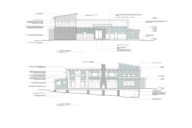 Rogue Architecture-Pelloquin Residence Elevation - Presentation