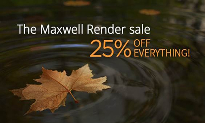 Maxwell Render Promotion
