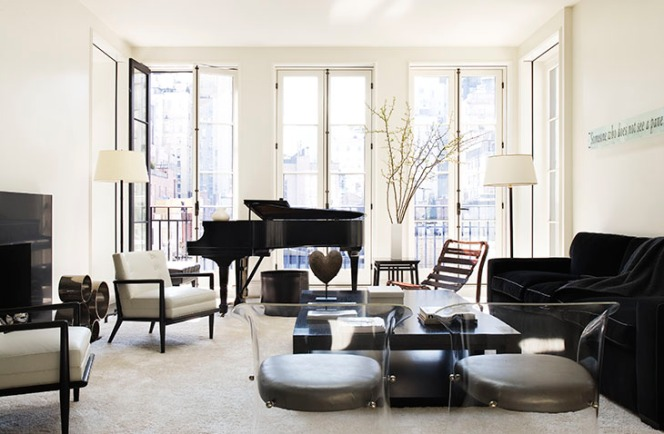 Image 3-Lenox Hill Townhouse Music Room