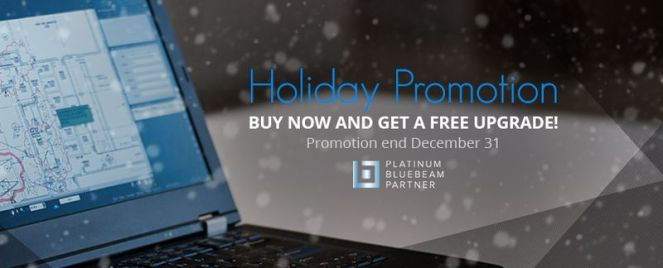 Bluebeam Holiday Promotion
