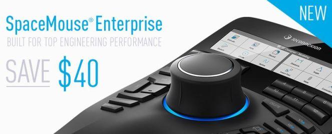 Space Mouse Enterprise Promo